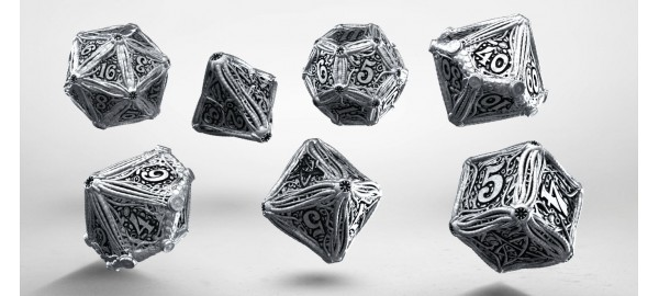 Metal Call of Cthulhu Dice Set (7)