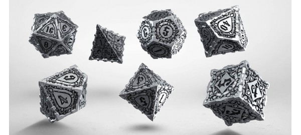 Metal Pathfinder Dice Set (7)
