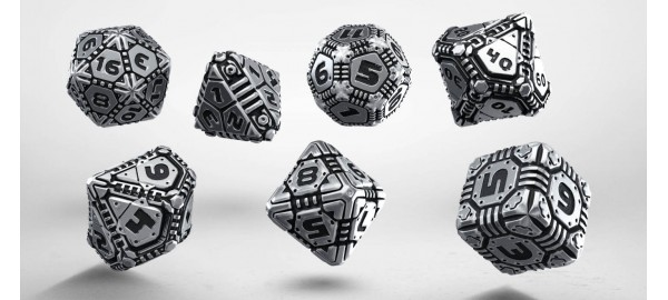 Metal Tech Dice Set (7)