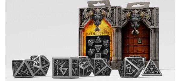 Kości RPG Metalowe Krasnoludzkie (7)