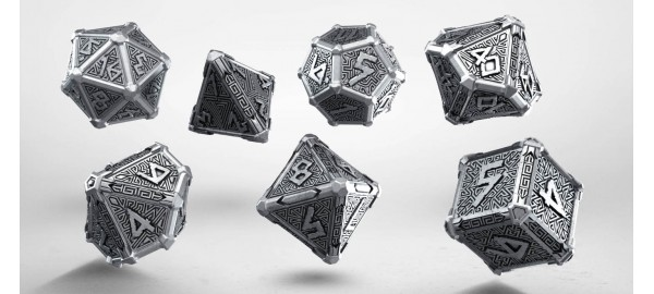 Metal Mythical Dice Set (7)