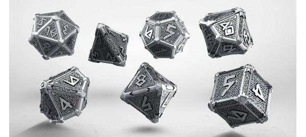Kości RPG Metalowe Mityczne (7)
