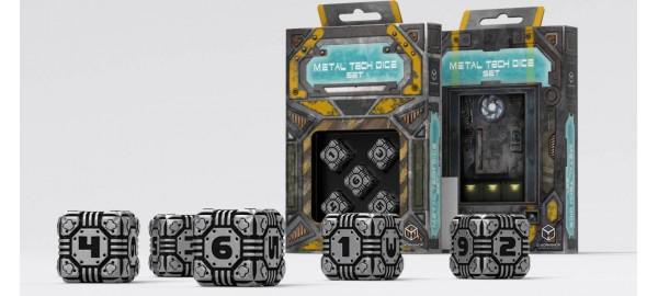 Kości K6 Metalowe Tech Dice 5K6 (5)