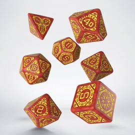 Starfinder Dawn of Flame Dice Set (7)