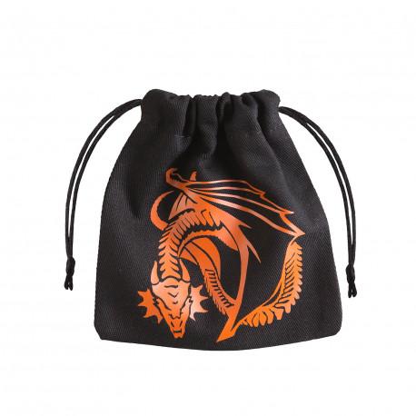 Dragon Black & orange Dice Bag [unusual]