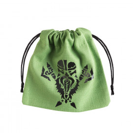 Dwarven Green & black Dice Bag [unusual]