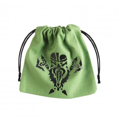 Dwarven Green & black Dice Bag [unusual]