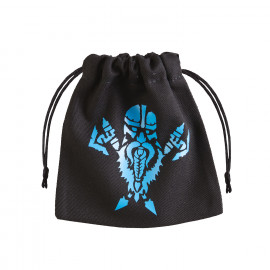 Dwarven Black & blue Dice Bag [unusual]