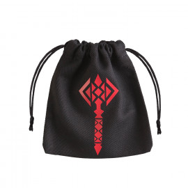 Hammer Black & red Dice Bag