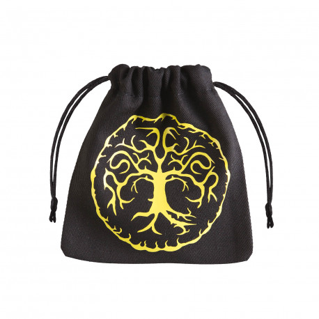 Forest Black & yellow Dice Bag [unusual]