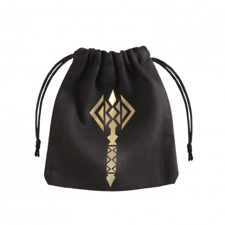 Hammer Black Gold Dice Bag Unusual