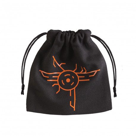 Galactic Black & orange Dice Bag [unusual]