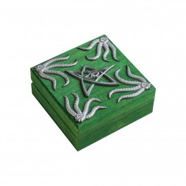 Cthulhu Green Dice Chest