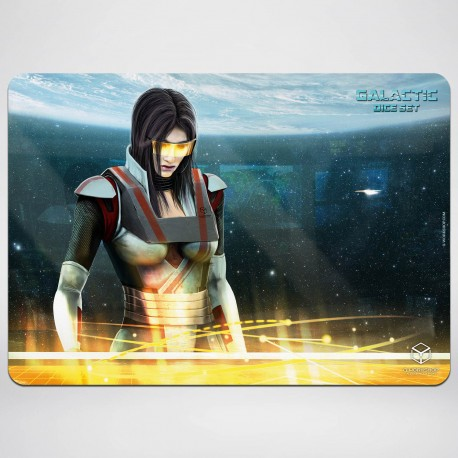 Galactic Gaming Mat 35x50cm