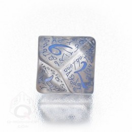 D10 Elvish Translucent & -blue Die (1)