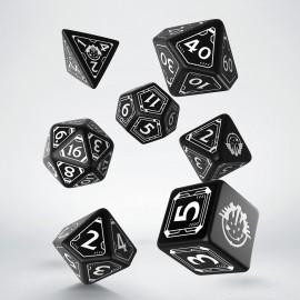 Kości RPG Kości RPG Starfinder (Wersja limitowana, Czarno-białe) (7)