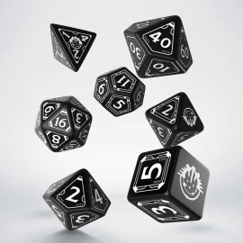 Starfinder Dice Set (Limited Edition, Black & white) (7)