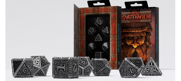 Metal Svetovid Dice Set (7)