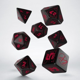 Cyberpunk Red RPG Dice Set