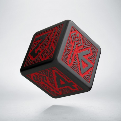 D6 Dwarven Black-Red (1)