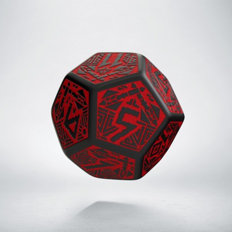 K12 Krasnoludzka Czarno-czerwona (1)
