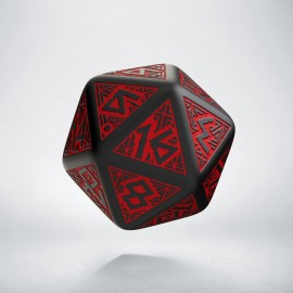 D20 Dwarven Black-Red (1)