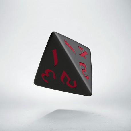 D4 Classic Runic Black & red