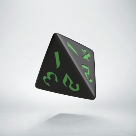 D4 Classic Runic Black & green