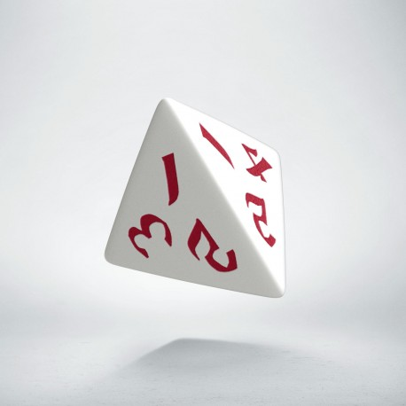 D4 Classic Runic White & red