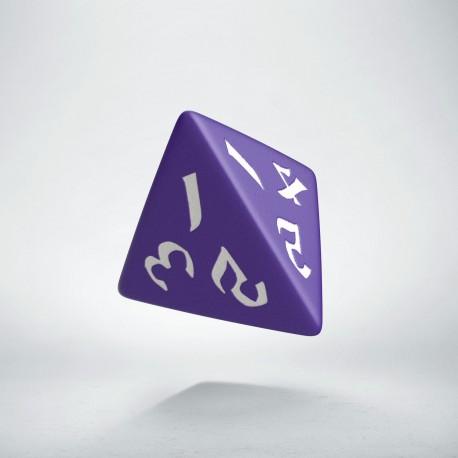D4 Classic Runic Purple & white