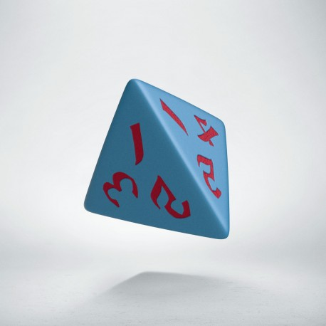 D4 Classic Runic Blue & red