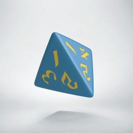 D4 Classic Runic Blue & yellow
