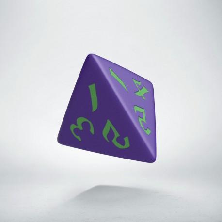 D4 Classic Runic Purple & green