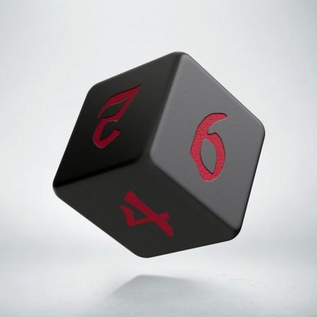 D6 Classic Runic Black & red
