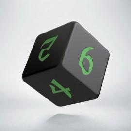 D6 Classic Runic Black & green
