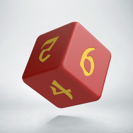 D6 Classic Runic Red & yellow