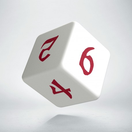 D6 Classic Runic White & red