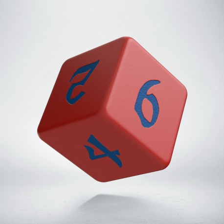 D6 Classic Runic Red & blue