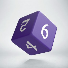 D6 Classic Runic Purple & white