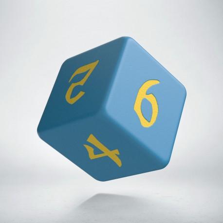D6 Classic Runic Blue & yellow