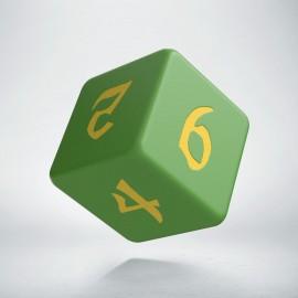 D6 Classic Runic Green & yellow