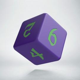 D6 Classic Runic Purple & green