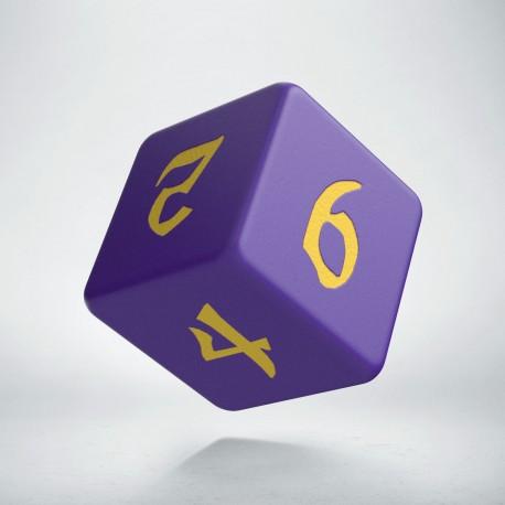 D6 Classic Runic Purple & yellow
