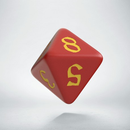 D8 Classic Runic Red & yellow