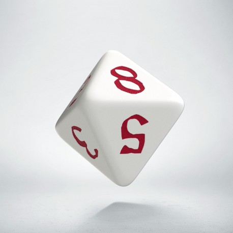 D8 Classic Runic White & red