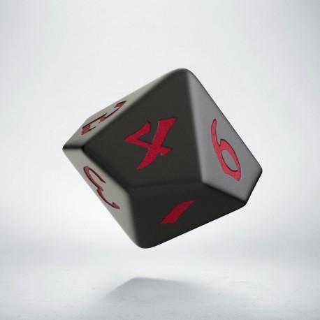 D10 Classic Runic Black & red