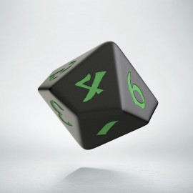 D10 Classic Runic Black & green