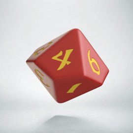 D10 Classic Runic Red & yellow