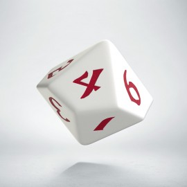D10 Classic Runic White & red