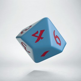 D10 Classic Runic Blue & red